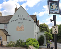 Thames Head Inn - nr Kemble