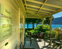 Mahana Lodge- Punga Cove