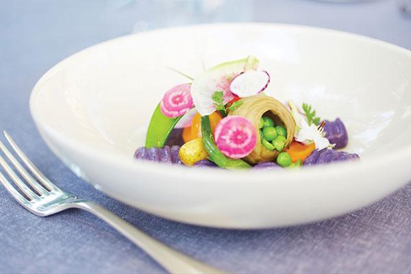 Food at Hotel Crillon le Brave