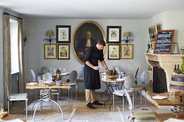 Hotel Crillon le Brave dining area