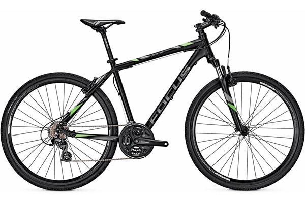 Focus Hybrid rental bike