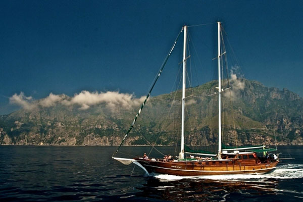 Deniz Ship on Italian Bike and Boat