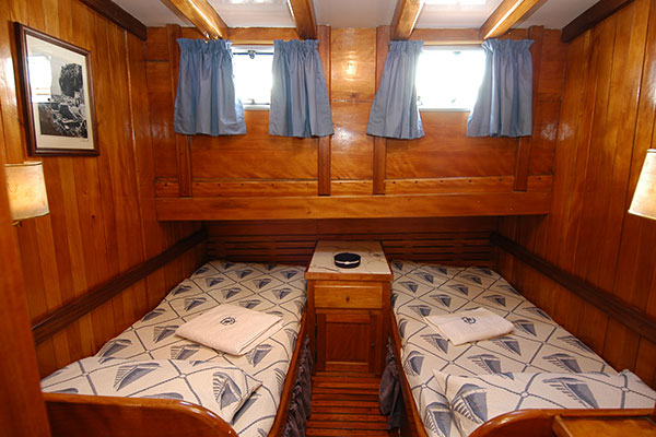 double room on Maria ship
