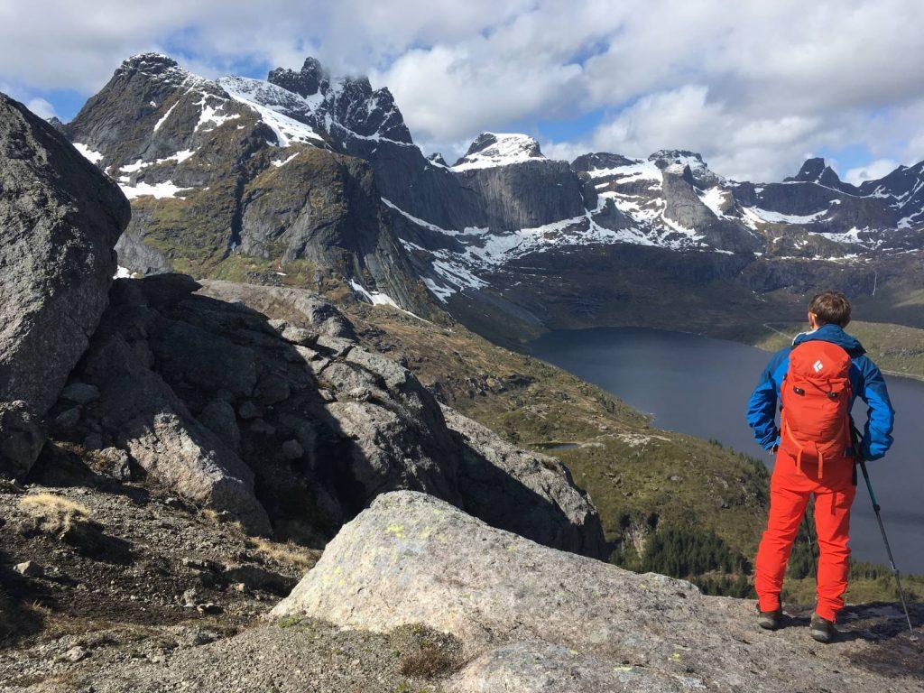 Nesheia summit cairn