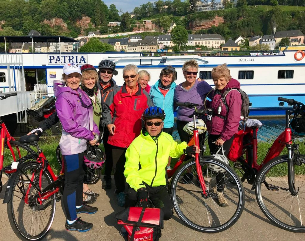 Biking Moselle Cycle Path