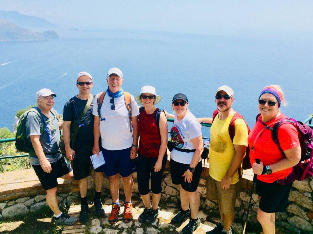 Hiking in Amalfi