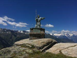 Statue of St Bernard