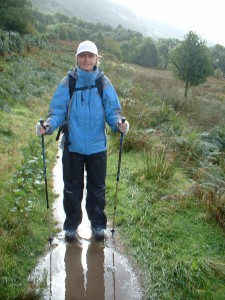 walker on the west highland way