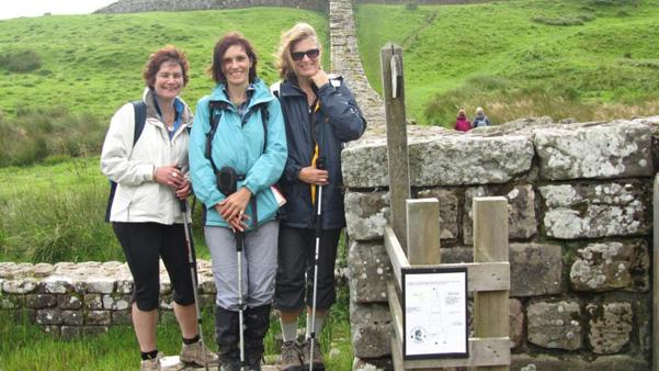 hadrian's wall walk, walking in england, walking holidays in england