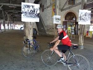 A Tour de France exhibition in Revel