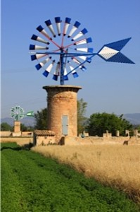Cycle sights: A windmill on Mallorca
