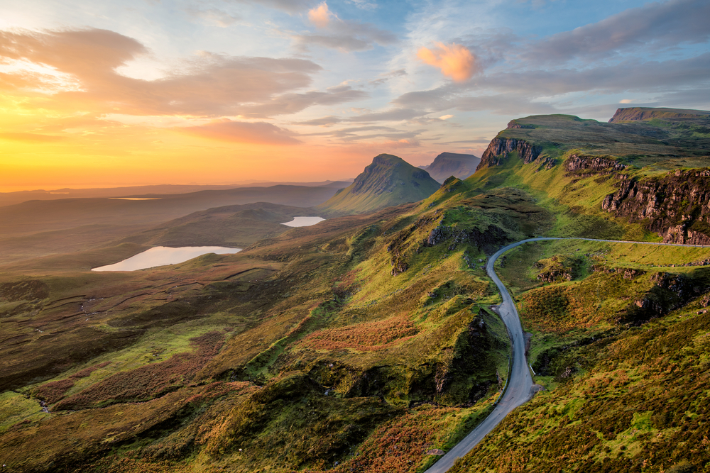 Quiraing Skye Scotland