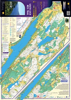 Mapping a walking route on Loch Ness
