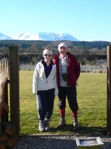 Great Glen Way colin chapman granddaughter