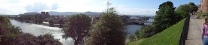 Panorama of Inverness from Inverness Castle