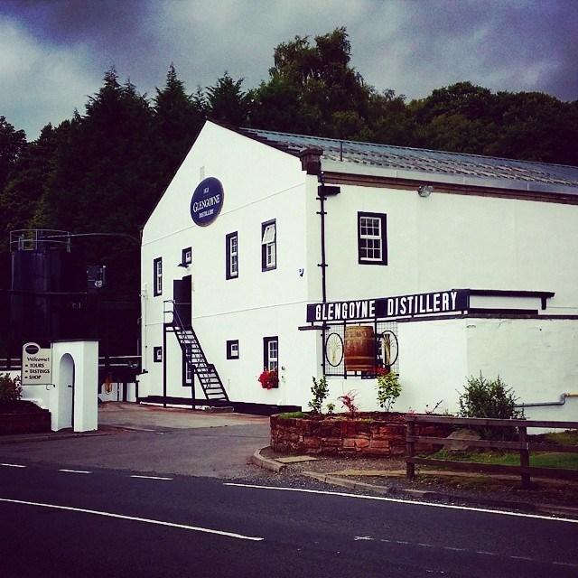 Glengoyne distillery on the West Highland Way