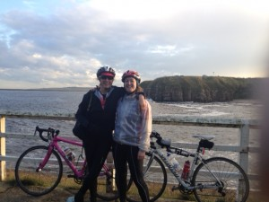 We finish the C2C at the  North Sea