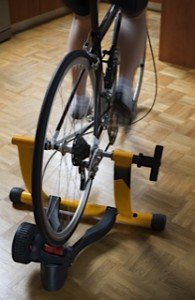 Good thinking: Make use of an indoor turbo trainer