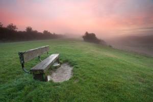 Dawn in the Surrey Hills