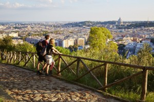 Via Francigena Into Rome Macs Adventure