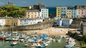 Pretty Tenby Harbour