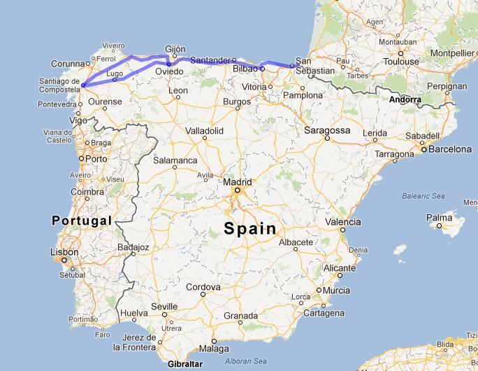 Camino Guide | Camino Del Norte & Camino Primitivo
