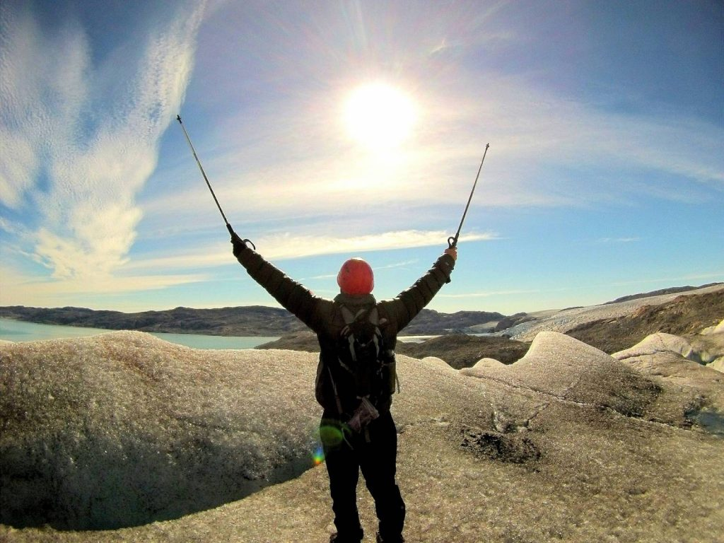 The benefits of walking (trekking) poles