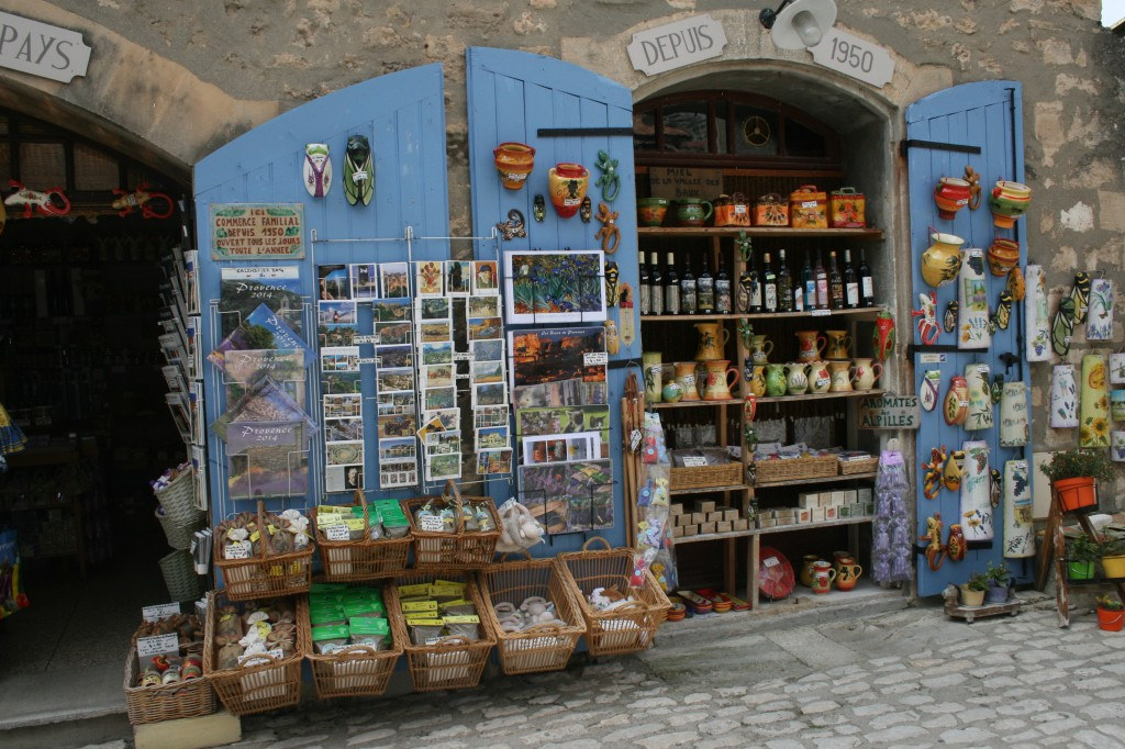 Shop in Les Baux