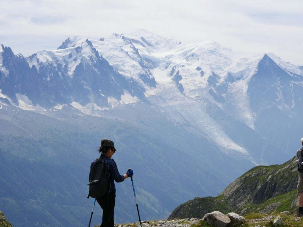 The Mont Blanc Massif.