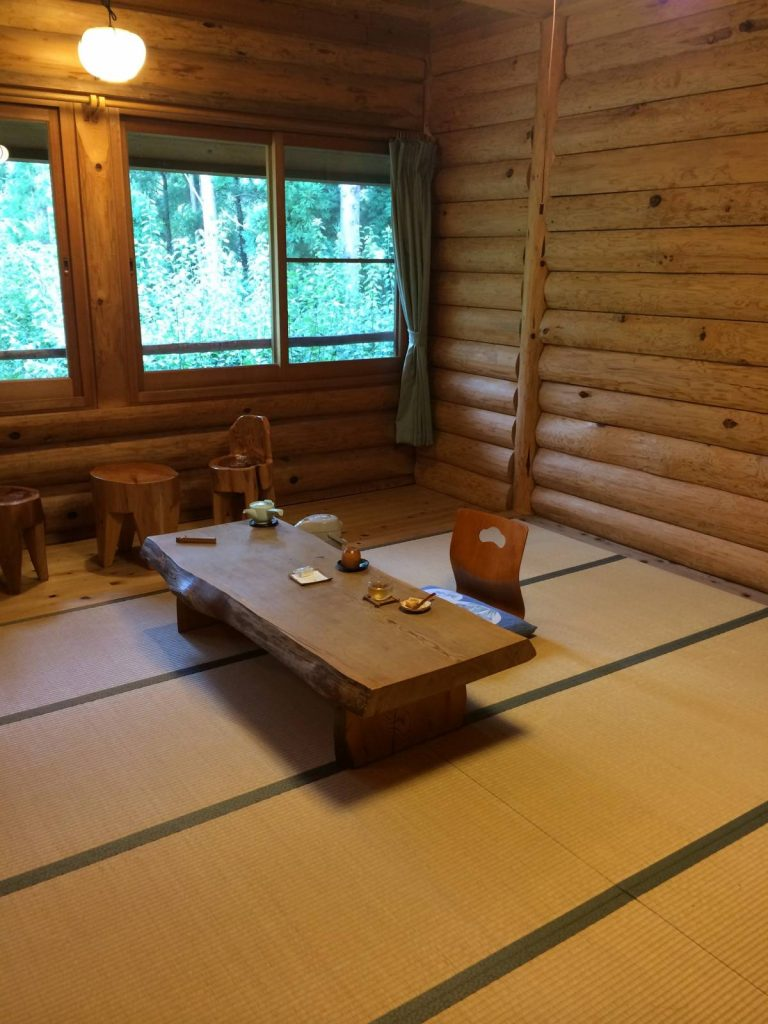 Typical room in a Ryokan