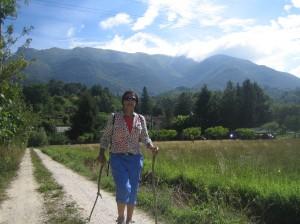 Walking the Via Francigena through Italy