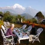 Breakfast at Himalaya Lodge