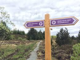 John Muir Way - Sign to Balloch or Helensburgh