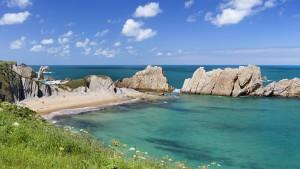 Cantabrian coast, northern Spain