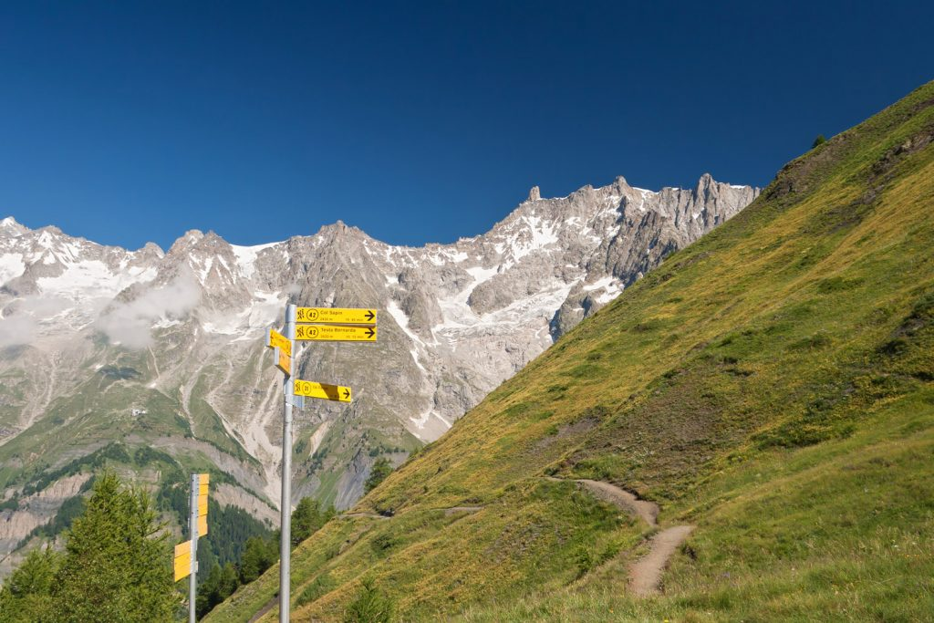 Tour du Mont Blanc Path