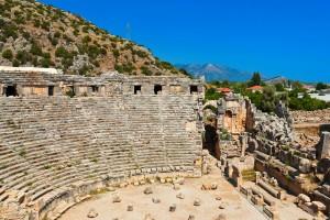 Myra's Amphitheare circa 100BC