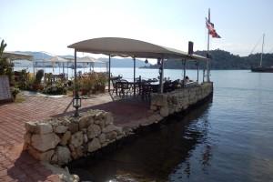 Delightful waterside restaurants at your Ucagiz pension