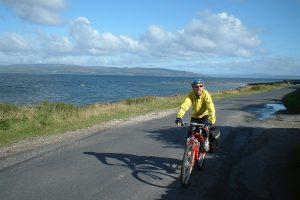 Cycling on Arran