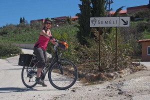 Arriving at Semeli Winery on a glorious day.