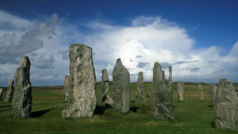 Callindish stones.