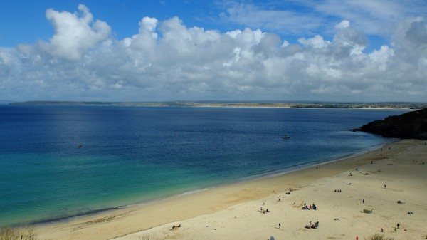 Porthminster Beach. Pic credit: Phill Lister on Flickr Creative Commons
