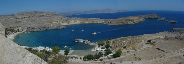 Lindos. Pic credit: Iain on Flickr Creative Commons