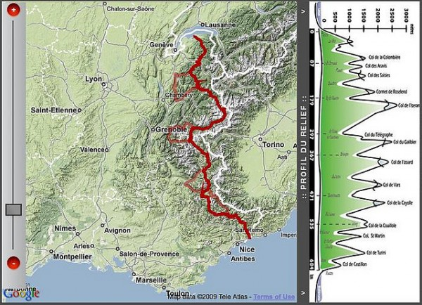 The mighty Alps route. Pic credit: Duncan Hull on Flickr