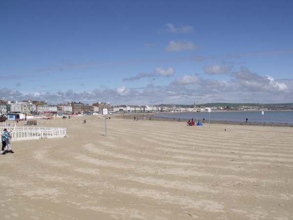 Weymouth Beach. Pic credit: Elliot Brown on Flickr Creative Commons
