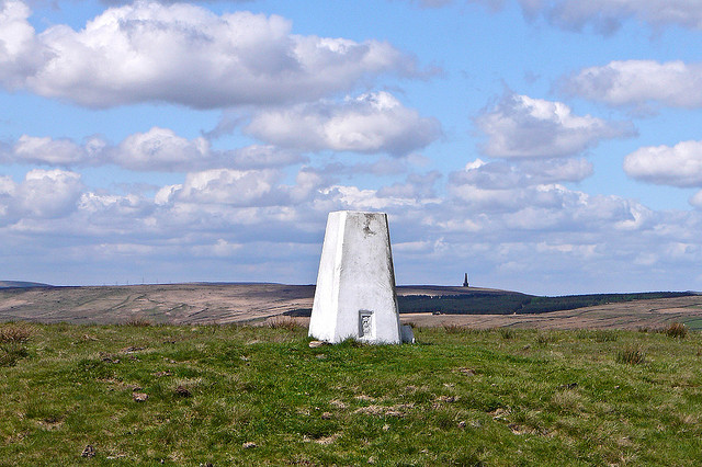 Walk to a trig point. Pic credit: Tim Green on Flickr creative Commons.
