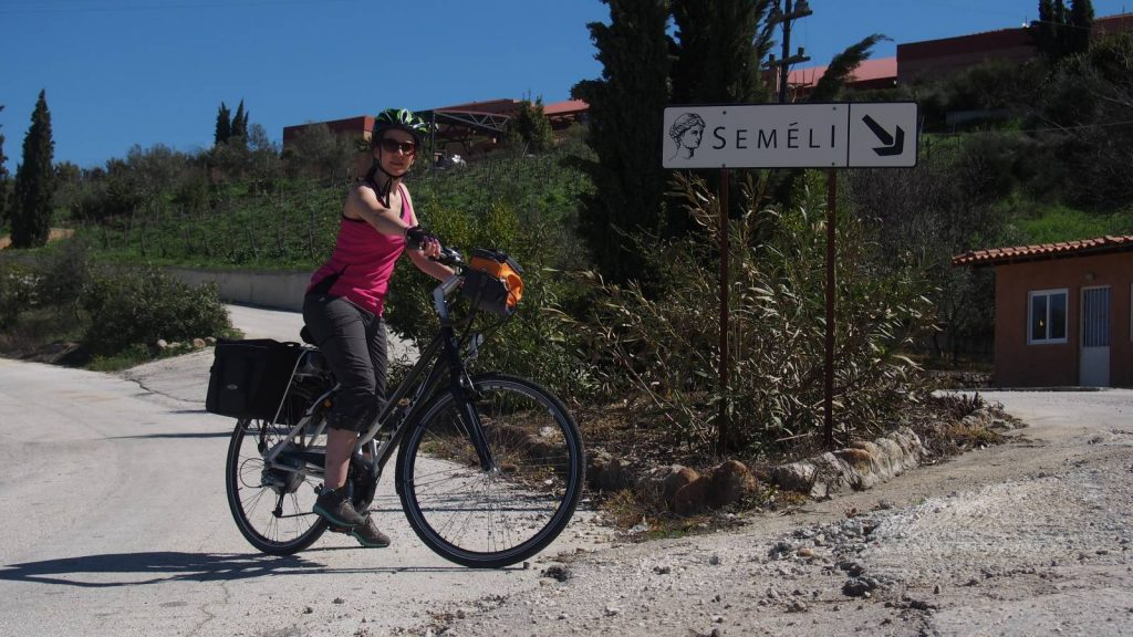 Cycling in Greece on my E-Bike