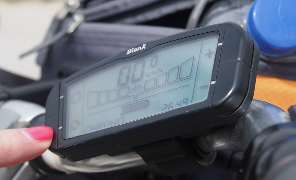 E-Bike digital display