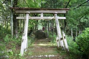 Torii (Japanese arch, Kumano Kodo, Japan