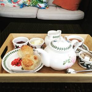 Afternoon cream tea at Mayon Farmhouse - Sennen (2)
