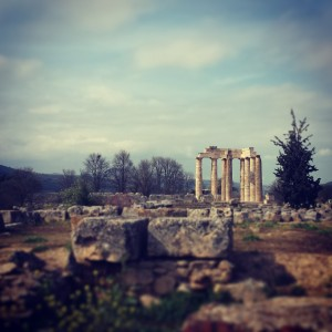 The Temple of Zeus at Ancient Nemea
